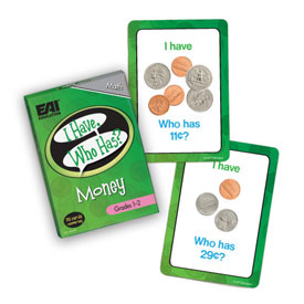 I Have, Who Has? Money Game: Grades 1-2