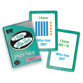 I Have, Who Has? Place Value Game: Grades 1-2