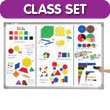Jumbo Magnetic QuietShape® Foam Classroom Set