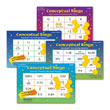 Conceptual Bingo™: Fractions, Decimals & Percents - Set of 4