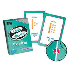 I Have, Who Has? Place Value Game: Grades K-1
