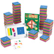 QuietShape® Foam Fraction Squares Kit: Numbered