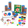 QuietShape® Foam Fraction Circles Kit: Blank