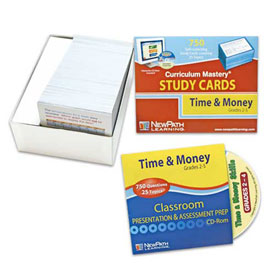 Time & Money Study Cards & Interactive Whiteboard CD-ROM