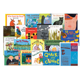Math and Literature Book Set: Grades K-1