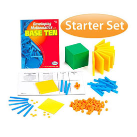 Base Ten Starter Set: Differentiated in Tub