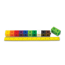 "Linking Cubes - 1"" Assorted Colors - Set of 500"