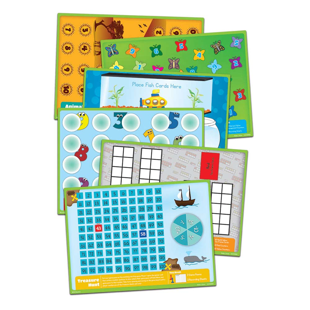 Math Standards Game Packs: Kindergarten - Games, Puzzles and Toys ...