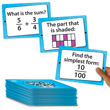 Fraction Line-Up Cards: Grades 4+