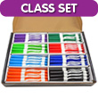 EAI® Education Dry-Erase Markers: Fine-Tip - Assorted Colors - Set of 96