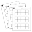 Ten Frame Pad - 100 Sheets