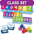 Place Value to Millions/Decimals to Thousandths Flip Chart Classroom Set
