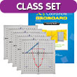 X-Y Coordinate Slide Board Classroom Set