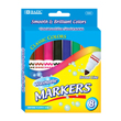 Broad Line Jumbo Washable Markers - Assorted Colors: Set of 8