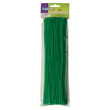 "Chenille Stems - 12"" Kelly Green: Pack of 100"