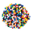 Beads - 9mm Plastic: Bag of 1000 Assorted Colors