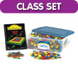 Color Tiles Classroom Kit - Set of 400