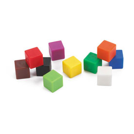 Centimeter Cubes - Set of 5000 in Tub