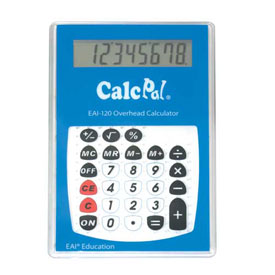 CalcPal® EAI-120 Overhead Calculator