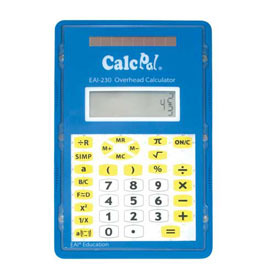 CalcPal® EAI-230 Overhead Calculator
