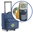 CalcSAFE® Deluxe Bundle: TI-84 Plus EZ-Spot Graphing Calculator w/ SmartView™ Emulator Software