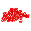 Red Dice: 6-sided - Set of 30