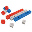 Katie Kubes™ - Set of 30: Red, White, and Blue