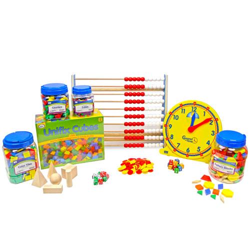 EAI Education Manipulative Class Kit for use with Eureka Math