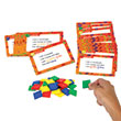 Color Tile Fraction Puzzles: Grades 3-4: Single Student Set
