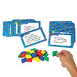 Color Tile Fraction Puzzles: Grades 5+: Single Student Set