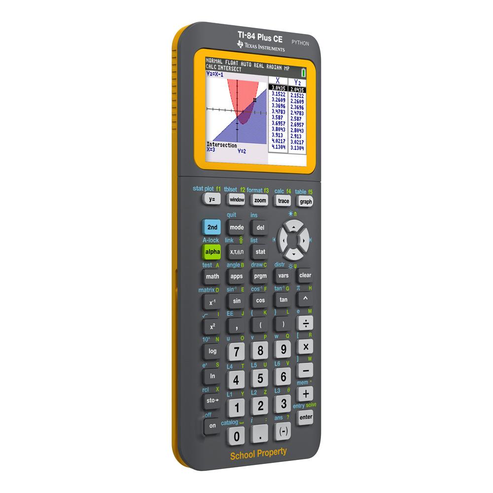 Texas Instruments® TI-84 Plus CE EZ-Spot Graphing Calculator