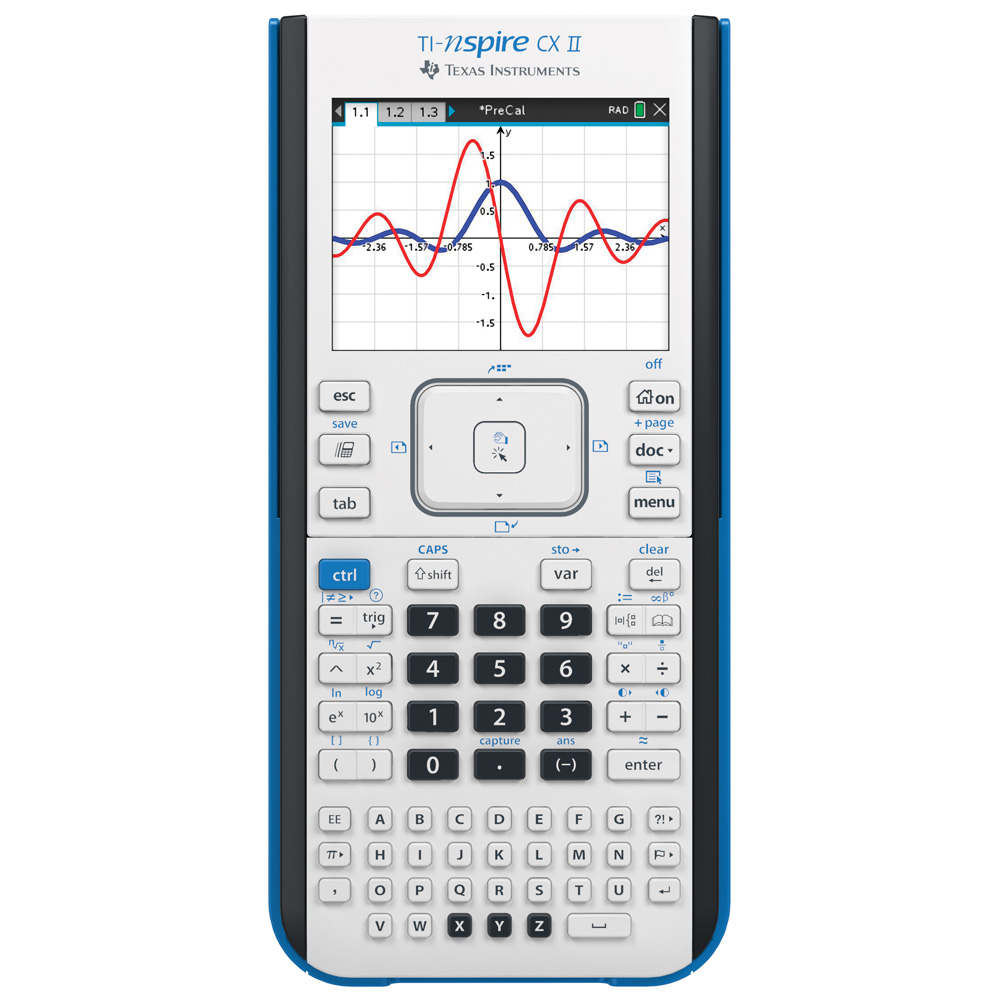Texas Instruments® TI-Nspire™ CX II Graphing Calculator