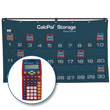 CalcPal® Storage Calculator Package: Texas Instruments® TI-10 Elementary Calculator
