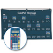 CalcPal® Storage Calculator Package: Texas Instruments® TI-15 Calculator