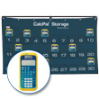 CalcPal® Storage Calculator Package: Texas Instruments® TI-34 MultiView Scientific Calculator