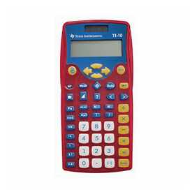 Texas Instruments® TI-10 Basic Calculator