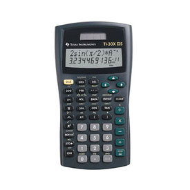 Texas Instruments® TI-30X IIS Scientific Calculator - Teacher Pack (10 Calculators)