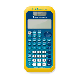 Texas Instruments® TI-34 MultiView™ EZ-Spot Scientific Calculator