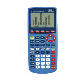 Texas Instruments® TI-73 Explorer - Teacher Pack (10 Calculators)