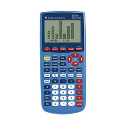 Texas Instruments® ViewScreen™ Calculators: TI-73 Explorer™ Graphing Calculator