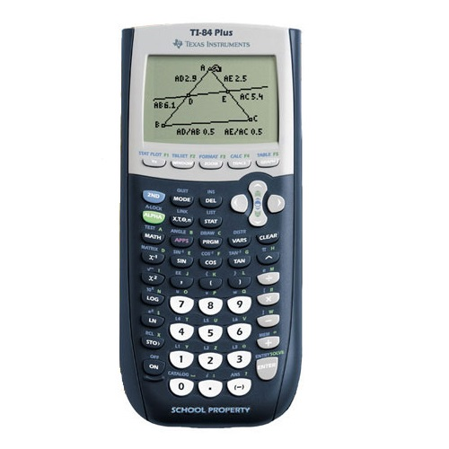 Texas instruments(r) ti-84 plus graphing calculator | shop your.