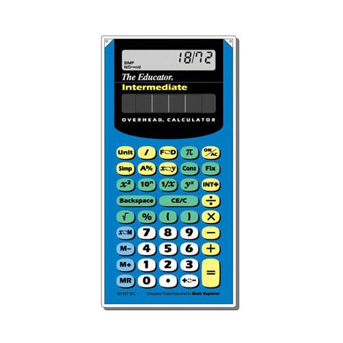 texas instruments ti 12 overhead scientific calculator sale