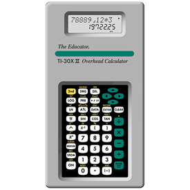 Texas Instruments® TI-30X IIS Overhead Scientific Calculator