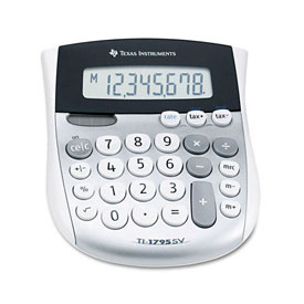 Texas Instruments® TI-1795SV Basic Calculator