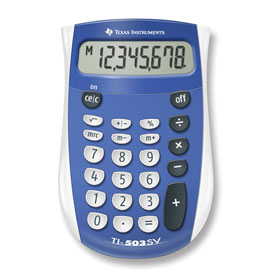 Texas Instruments® TI-503SV Basic Calculator
