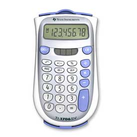 Texas Instruments® TI-1706SV Basic Calculator