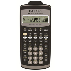 Texas Instruments® BA-II Plus Financial Scientific Calculator