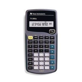 Texas Instruments® TI-30Xa Scientific Calculator - Retail